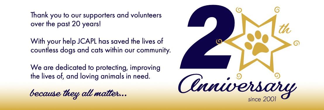 JCAPL 20th Anniversary Slider